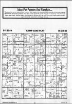 Camp Lake T122N-R38W, Swift County 1986 Published by Farm and Home Publishers, LTD
